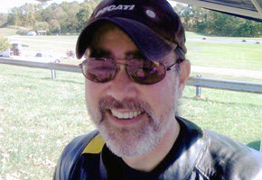 At Grattan Raceway, September, 2007